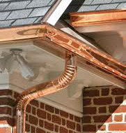 Copper Gutter Image