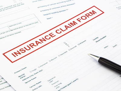 Roofing Insurance Claim Form